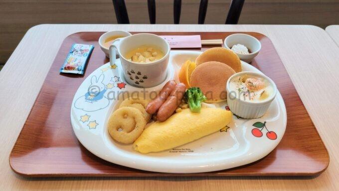グランドニッコー東京ベイ舞浜のお子様プレート(朝食)