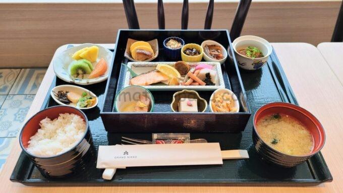 グランドニッコー東京ベイ舞浜の和朝食