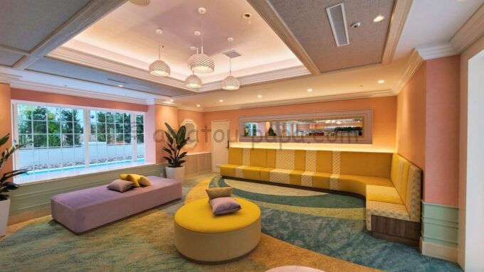 グランドニッコー東京ベイ舞浜のレインボーラウンジ(Rainbow Lounge)の雰囲気