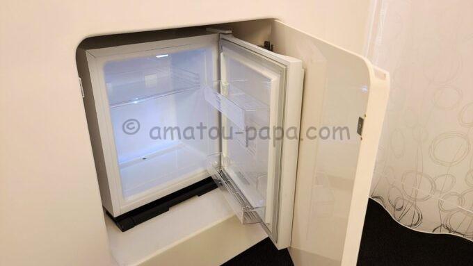 ヒルトン東京ベイのセレブリオスイートの冷蔵庫