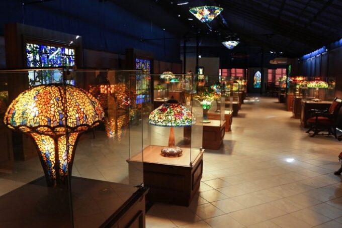 ニューヨークランプミュージアム&フラワーガーデンの「ニューヨークランプ&ティファニーミュージアム」