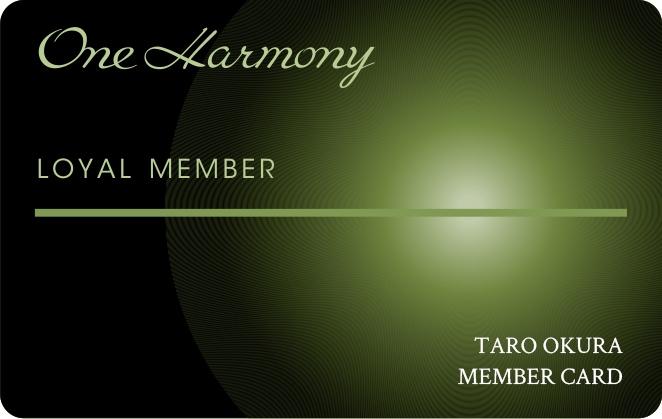 One Harmony(ワンハーモニー)ロイヤルメンバー
