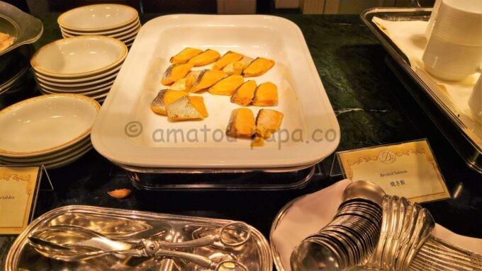 シャーウッドガーデン・レストランの焼き鮭