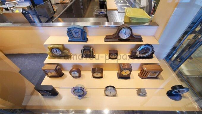 チックタック・ダイナーに飾られてある時計