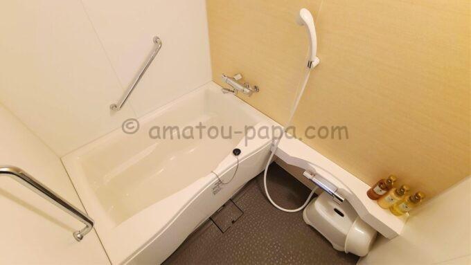 東京ベイ舞浜ホテル ファーストリゾートのキャッスルルーム・ワンダーの風呂