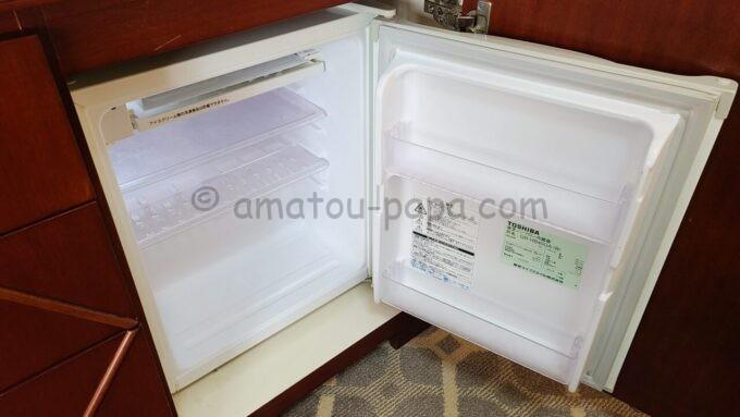東京ベイ舞浜ホテル ファーストリゾートのキャッスルルーム・ワンダーの冷蔵庫