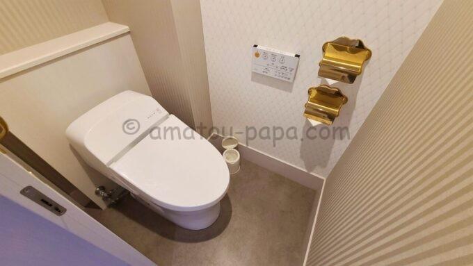 東京ベイ舞浜ホテル ファーストリゾートのキャッスルルーム・ワンダーのトイレ