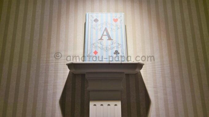東京ベイ舞浜ホテル ファーストリゾートの4階に飾られているオブジェ(本)