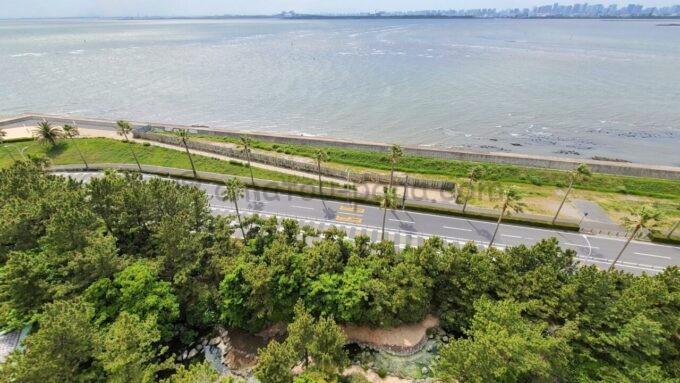 ヒルトン東京ベイのセレブリオスイートからの眺望