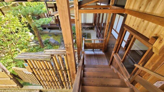 アメックの高台寺塔頭 圓徳院「京都特別観光ラウンジ」の入口全体の雰囲気