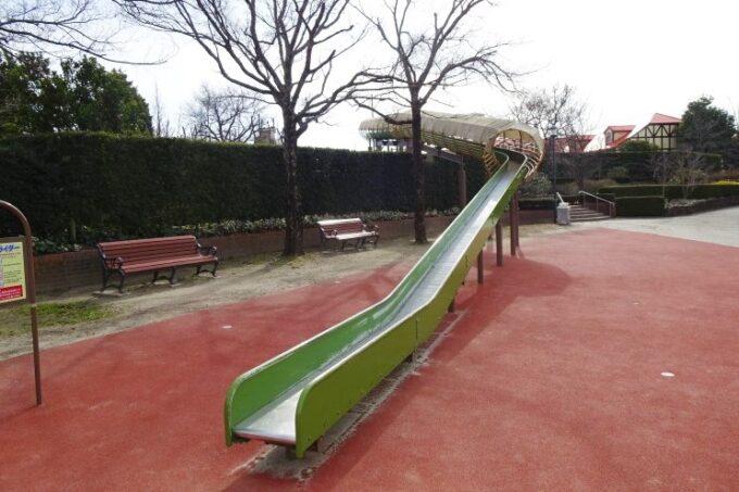 安城産業文化公園デンパークのスカイスライダー