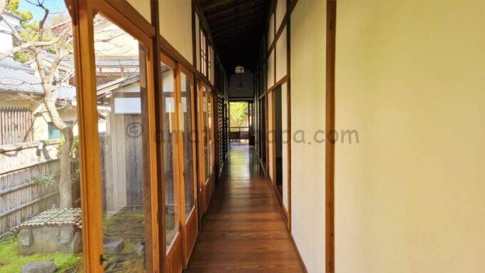 高台寺塔頭 圓徳院の廊下