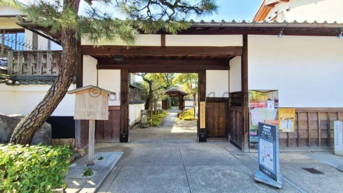 高台寺塔頭 圓徳院の入口