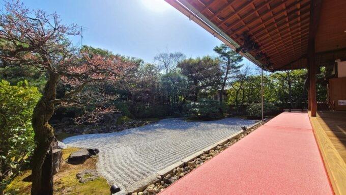 高台寺塔頭 圓徳院の南庭(なんてい)
