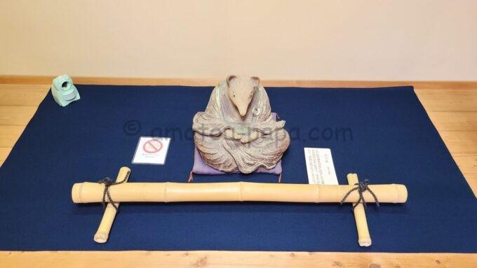 高台寺塔頭 圓徳院にある宗旦狐(そうたんぎつね)の置物