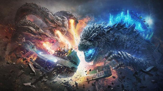 西武園ゆうえんちの「ゴジラ・ザ・ライド大怪獣頂上決戦」