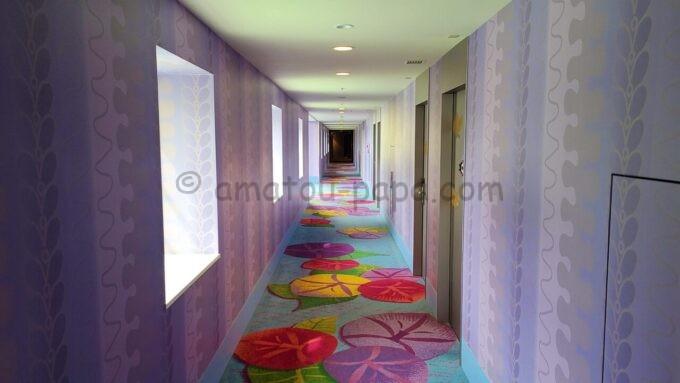 東京ディズニーセレブレーションホテル ウイッシュの4階フロア