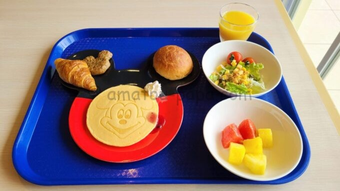 東京ディズニーセレブレーションホテル ウィッシュの朝食