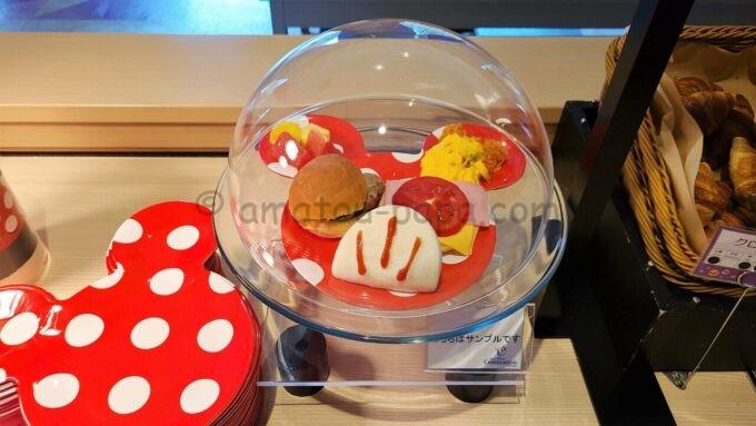 東京ディズニーセレブレーションホテル ウィッシュの朝食盛り付けサンプル