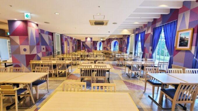 東京ディズニーセレブレーションホテル ウィッシュの朝食会場「Wish Cafe(ウィッシュ・カフェ)」