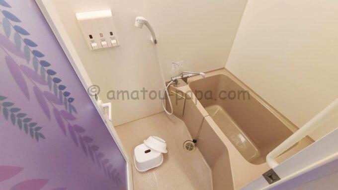 東京ディズニーセレブレーションホテル ウイッシュのスーペリアルームのお風呂