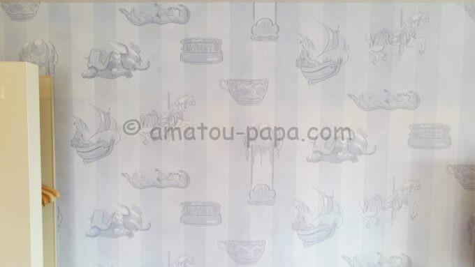 東京ディズニーセレブレーションホテル ウイッシュのスーペリアルームの壁紙