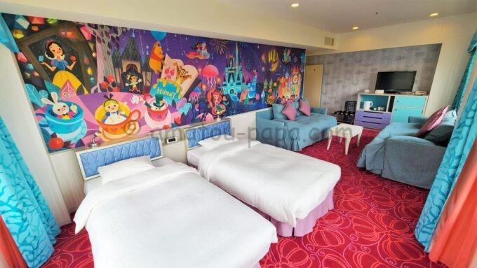 東京ディズニーセレブレーションホテル ウイッシュのスーペリアルーム