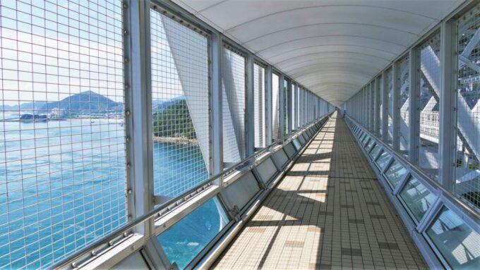 大鳴門橋遊歩道 渦の道からの眺望