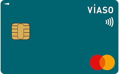 三菱UFJカード VIASOカード(ピーコックグリーン)